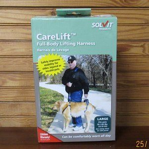 Solvit Full Body Dog Lifting Harness LG 70-130 lbs